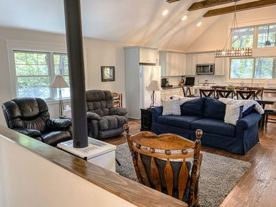 Photo for SUMMER FAMILY FUN: Chapel Point Cove- Cielo Property Management - Lake Lure Cottage