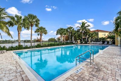 Community Pool Within A Short Walking Distance