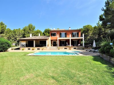 Photo for VILLA ROSITA. Villa 8 pax in Costa de la Calma (Calvia). Private Pool. 5 Bedrooms. -00073- - Free Wifi