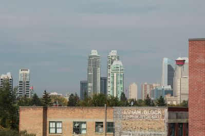 View from the roof top patio