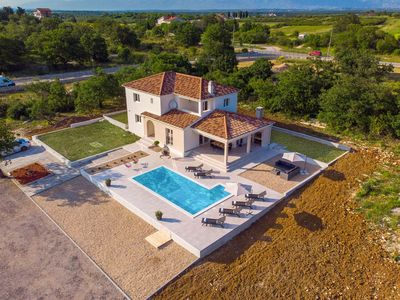 Photo for Beautiful Villa Lumi, near Zadar, with a Pool