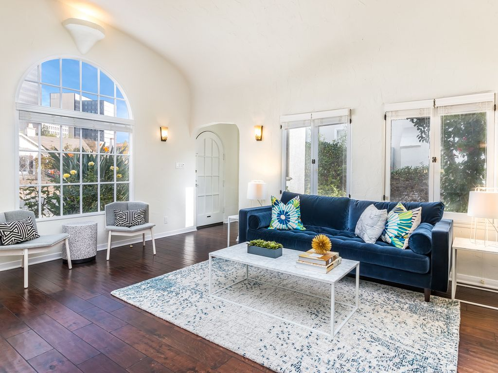 West Hollywood Spanish Two Bed: Designer Furnished, Renovated ...