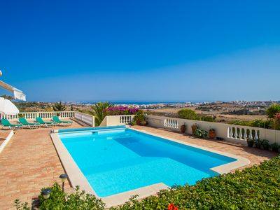 Photo for Villa With Private Pool And Fantastic Sea Views, Quiet and Family-friendly