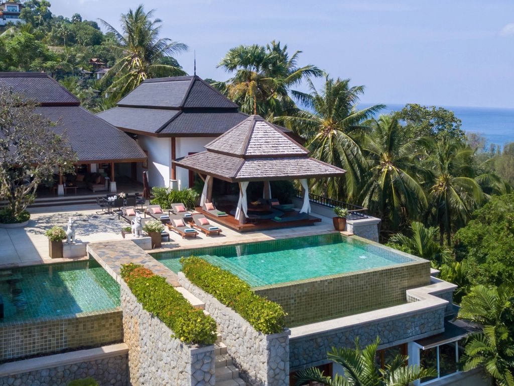 Luxury Surin Beach Villa, Privater Koch, Transport Mit Fahrer, Meerblick
