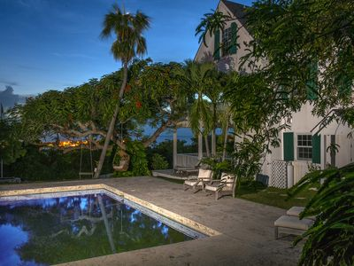 Photo for Luxuriously Restored Historic Hilltop Estate with Harbor & Ocean views