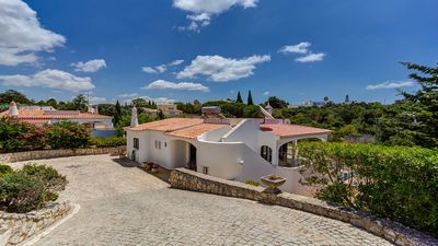 Photo for Casa Areias Quatro is a hugely spacious three bed villa with private pool. Fully air conditioned thr