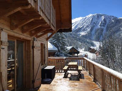 Photo for Chalet Jonquille - 12 persons with outdoor Jacuzzi, 6 bedrooms