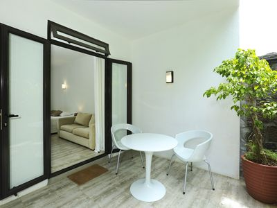 Photo for Homerez last minute deal - Nice studio with mountain view