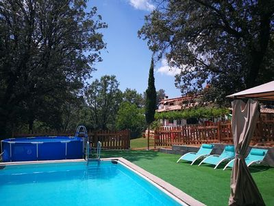 Photo for Self catering cottage Las Castañetas for 13 people /310 euro/noche