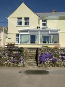 Photo for Perfect south facing cottage overlooking Mevagissey Harbour and across the bay.