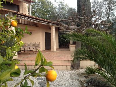 Photo for Domaine de Valcros house of 125m2 with swimming pool, 3 bedrooms and 2 bathrooms
