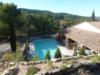 Photo for Bastide recent 250m ² campaign aixoise swimming pool 10 people ideal 2 families