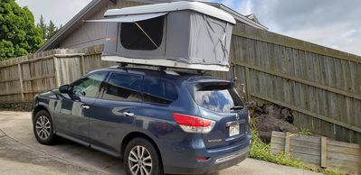 Photo for Roof Top Tenting in a 2016 Pathfinder AWD/auto
