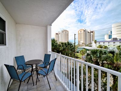 Beautiful vacation space at Clearwater Beach.