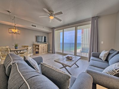 Photo for Shores of Panama Gulf front Condo 1527~Best Sunset Views!