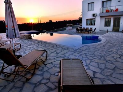 Photo for Vacation home Oniros Deluxe Villa 1 in Sea Caves-Peyia - 8 persons, 4 bedrooms