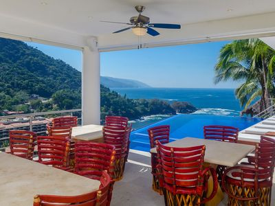 Photo for Casa Mismaloya - 7 Bedrooms/9 Bath Villa, Great Views and Sunsets.
