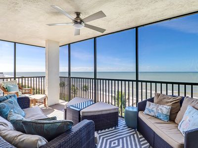 Photo for Vanderbilt Beach - Beachfront 3 Bedroom, 2 Bathroom Condo...STUNNING!