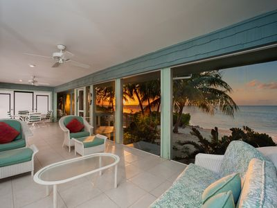 Photo for Fingertip Villa: Private, Gorgeous Waterfront Villa in Cayman Kai, Near Rum Point