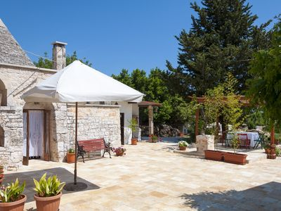 Photo for Authentic Trullo in Monopoli for 4 people near the Sea
