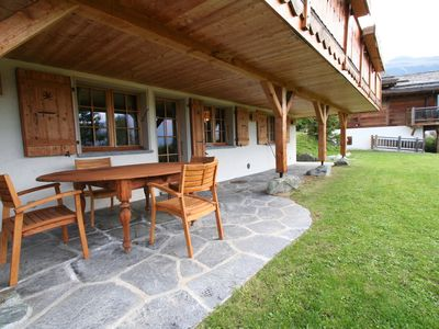 Photo for Luxury Apartment in Verbier with Garden