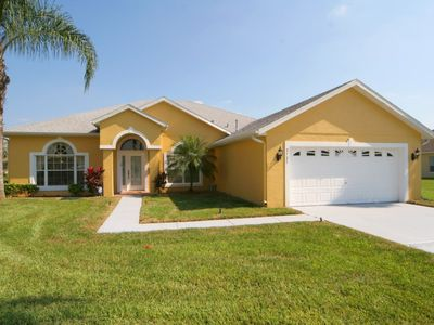 Photo for Gorgeous Lake View - Gated Community - Games Room - Free Wifi - 15 Minutes to Disney