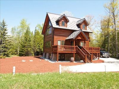 Photo for Bella Villa Log Home, One of a Kind Secluded Retreat