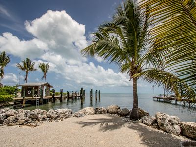 Photo for Gulfview escape with dockage, hot tub and plenty of parking