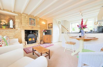 Photo for Foxglove Cottage is a traditional Cotswold stone cottage in the beautiful village of Blockley.