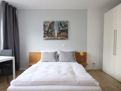Photo for Modern furnished apartment near Barbarossaplatz