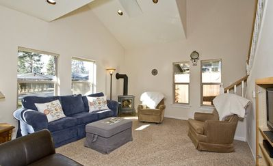 Photo for Pet Friendly Steps to Downtown, Free WiFi, Air Conditioning, Fireplace, Fenced Backyard, Walk Everyw