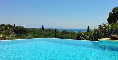 Photo for Modern Air Conditioned Villa with Pool ,Beautiful Sea View ,800m to beach.