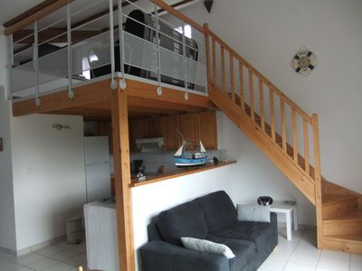 Photo for Comfortable house, pleasant holiday insured 300 meters from the sea