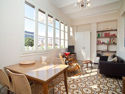 Photo for Apartment Poble Nou Tortella  in Barcelona, Barcelona - 4 persons, 2 bedrooms