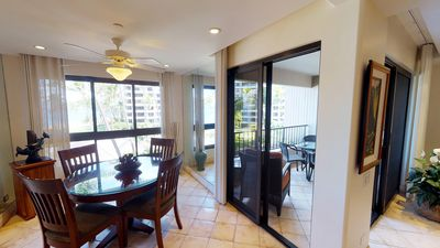 Photo for Amazing Ocean+Beach Views, fully furnished lanai and upscale furnishings