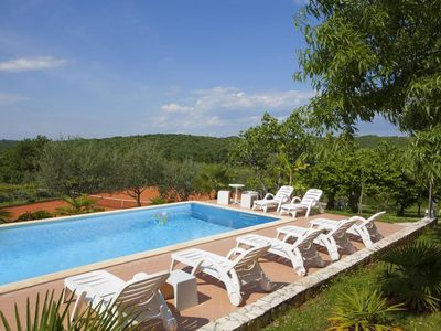 Photo for Mugeba Club A2, 2.2 km to the beach, 2 people, outdoor pool, free WiFi, parking
