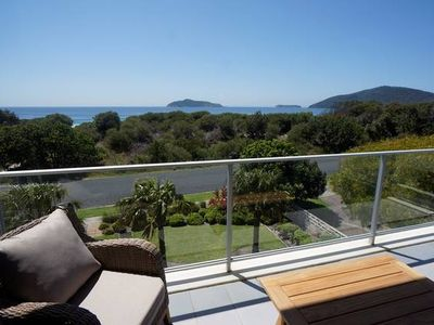 Photo for The Love Nest - luxury apartment with stunning views - stroll to beach