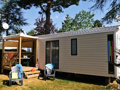 Photo for Camping Club Les Tamaris **** - Mobilhome for 6 People