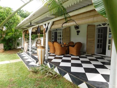 "Photo for Pretty ""VILLA CREOLE"" 5 mn walk from the sea, 1km from Trou aux Biches Gardien"