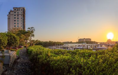 Photo for Naples - Cove Towers BEQUIA  Bay & Gulf View Luxury High-Rise Condo beach access