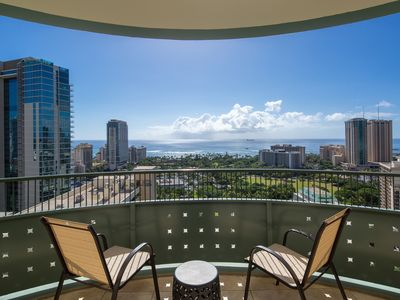 Photo for Lanikea at Waikiki Ocean view 2BR