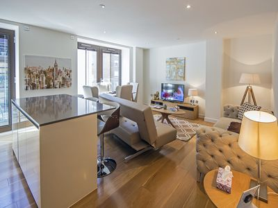 Photo for Beautiful Air conditioned Two Bedroom Apartment minutes from Westminster Abbey