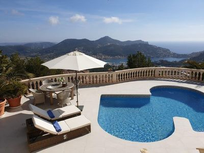 Photo for Villa with breathtaking view and heated swimming pool in very exclusive location