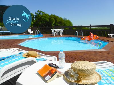 Relax by the pools with spectacular views
