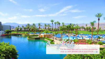 Photo for Luxurious studio at Marriott's Desert Springs  awaits! Book now!