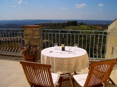 Photo for Boutique village gite with panoramic views and terrace near Gorges du Verdon