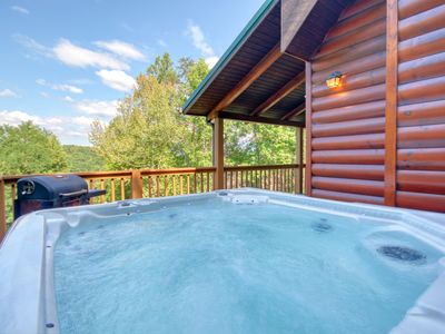Photo for Gatlinburg Private Lodge with Game Room, Wifi, Video Arcade, Pool Access
