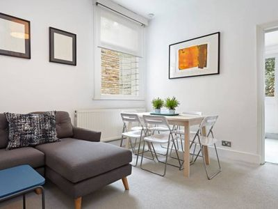 Photo for Perfectly located Chiswick 2 bed garden + parking