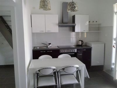 Photo for Modern accommodation in Umag, near beach, air-conditioned, WiFi, terrace, parking