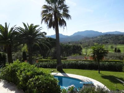 Photo for FACING THE ESTEREL F3 DUPLEX CLIMATISE IN VILLA OF CHARACTER pool6 KM CANNES